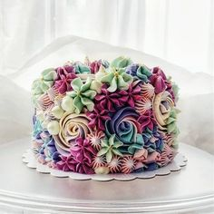 Floral Cake Design birthday cake 15 Beautiful Cake Designs that Are Out of This World Beautiful Cake Designs, Beautiful Cakes, Amazing Cakes, Amazing Birthday Cakes, Flower Birthday Cakes, Birthday Cake Designs, Birthday Cake Recipes, Easy Kids Birthday Cakes, Red Velvet Birthday Cake
