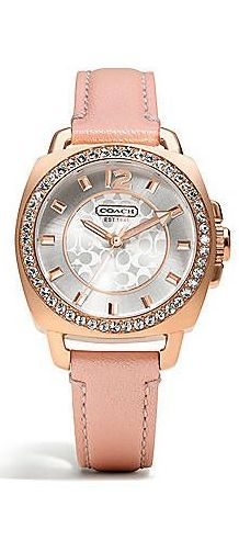 Breast Cancer Awareness COACH watch -I want one