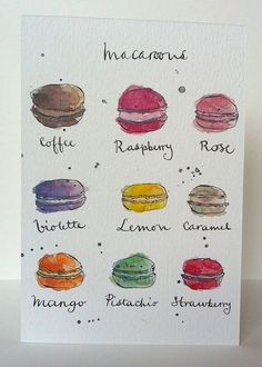 Hey, I found this really awesome Etsy listing at https://www.etsy.com/listing/127487455/french-macaroons-card-from-original