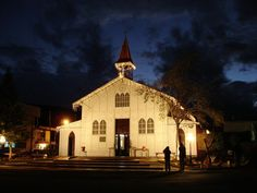 Catedral de Santa Barbara en Santa Rosalía, cabecera de Mulegé, México