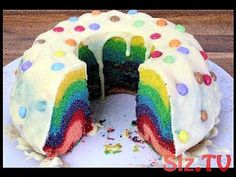 Sugar-sweet unicorn cheesecake enchants even the toughest guys. YouT # unicorn cheesecake # toughest # guys The post Sugar-sweet unicorn cheesecake enchants even the toughest guys. YouT appeared first on Dessert Platinum. Cheesecake, French Cake, Rainbow Paper, Rainbow Sweets, Novelty Birthday Cakes, Take The Cake, Cake Tins, Savoury Cake, Clean Eating Snacks