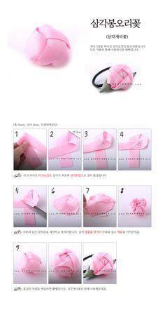 botón de rosa con cinta para coletero