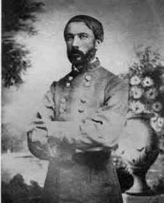 General Daniel Harvey Hill  Portrait photograph taken early in the Civil War