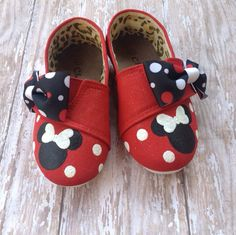 Hey, I found this really awesome Etsy listing at https://www.etsy.com/listing/189848334/red-minnie-mouse-tom-style-shoes