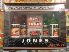Jones Soda Hot Wheels Set