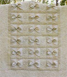 Island Wedding quilt pattern by Bella Nonna, done in neutral batiks