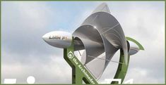 It's A Silent Rooftop Turbine Which Could Produce Half Of Your Home's Energy Needs - Green Energy Jubilation | Green Energy Jubilation #greenenergy