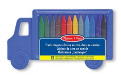 Melissa & Doug Truck Crayon Set: Amazon.co.uk: Toys & Games