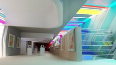 #Contract #Eclectico #Tienda #Accesorios #Vidrio #Estanterias