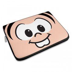 Capa Para Notebook Turma da Mônica - Olhões Mônica