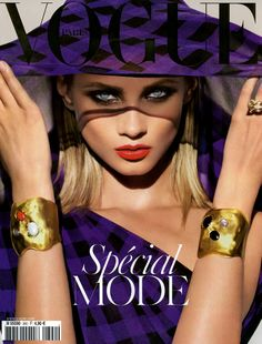 Anna Selezneva - Vogue Paris