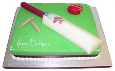 Cricket Theme - Birthday Cakes - Munch@Coughlans