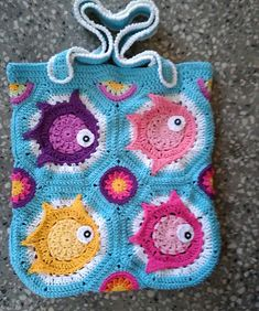 "Ravelry: Tote bag ""Into the sea"" pattern by Fresh hook crochet"