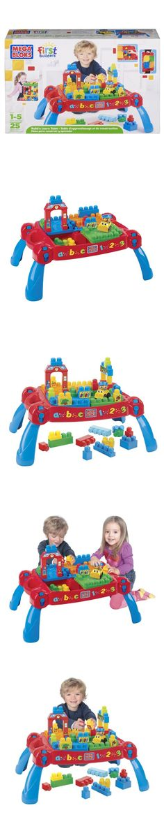 Mega Bloks Play 'n Go Table (8237) (Age: 12 months - 3 years) - Bright, bold and bountiful, the Build 'n Go Table is a 3-in-1 construction marvel and the ultimate toy for home, daycare and school fun! This Build 'n Go Table can be brought everywhere and unfolds in... - Activity Centers & Entertainers - Baby - $137.22