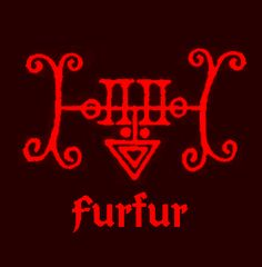 Sigil of Furfur, A Count of Hell who commands twenty six legions of demons.