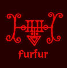 Sigil of Furfur, A Count of Hell who commands twenty six legions of demons.