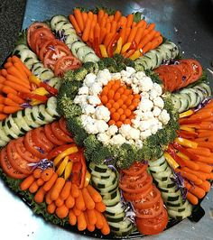 Vegetable Tray (put in fancy holder/on a fancy plate)