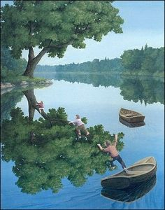Rob Gonsalves  Canadian painter of magic realism