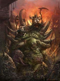 Warhammer 40k - Glottkin Created by Jorge Maese (Faroldjo)