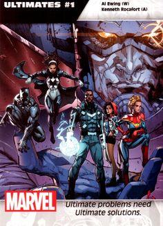 Ultimates #1 - Kenneth Rocafort - Marvel Comics