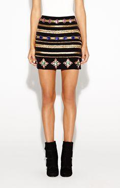 Gilded Ankh Skirt