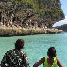 Falaise de Lekiny et Mouli ~ Ouvéa ~ Nouvelle Calédonie