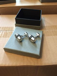 Rolls #royce #cufflinks gold plated #brand new in box + gift box ...