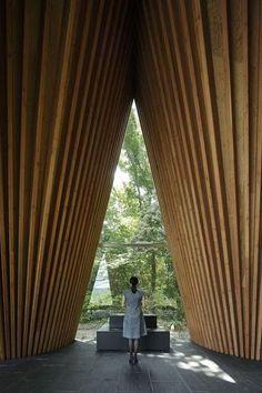Sayama Forest Chapel. Hiroshi Nakamura&NAP Co.,Ltd.