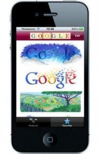 The new GoogleDoodleApp