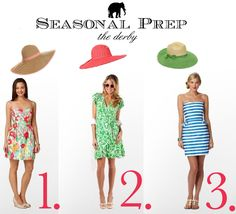 Seasonal Prep: Derby Dresses - Derby - Outfits
