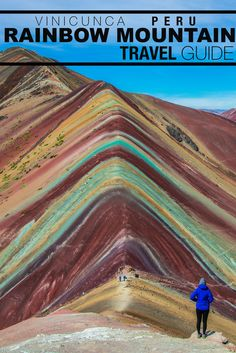 The most perfect place hidden deep in the Andes, the Rainbow Mountain Peru. An impossibly colorful mountain trek with Flashpacker Connect. Machu Picchu, Backpacking South America, South America Travel, Backpacking Peru, Places To Travel, Travel Destinations, Places To Visit, Holiday Destinations, Romantic Destinations
