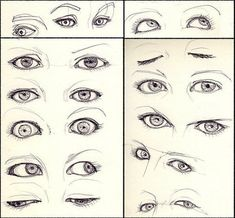 Expressive Eyes Drawing Reference | Drawing References and Resources | Scoop.it