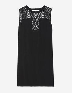 Robe pour morphologie en H Sandro Mode Style, Sandro, Tunic Tops, Womens Fashion, Silhouettes, Shopping, Black, Dresses, Inspiration