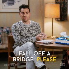 Discover & share this Schitt's Creek GIF with everyone you know. GIPHY is how you search, share, discover, and create GIFs. Really Funny, The Funny, Funny Relatable Memes, Funny Quotes, Daniel Levy, Tv Show Quotes, Movie Quotes, Schitts Creek, My Spirit Animal