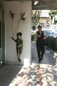 "Street Art By ""mad"" - Tehran (Iran)"