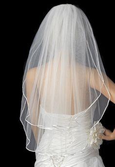 WHITE VEIL with SWAROVSKI CLEAR CRYSTALS 25/30 UK WEDDING + PEARL STUD EARRINGS