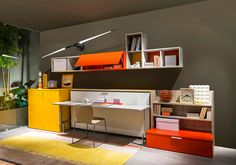 Clei: transformable multi-functional furnitures / CABRIO collection