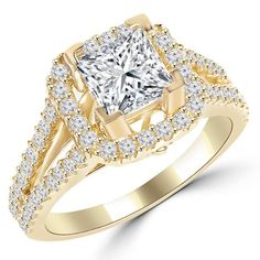 gold engagement rings - Google Search