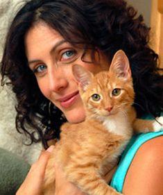 Lisa Edelstein Peta | Lisa Edelstein, vegana y activista por los derechos de los animales ...
