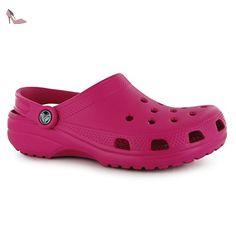 3c0e762f0e778 Crocs Hommes Classique Chaussures A Enfiler Sandales Clogs Crocs Sabot  Perfore Candy Rose 4 (37
