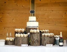 Can it get any more rustic?? Love the idea