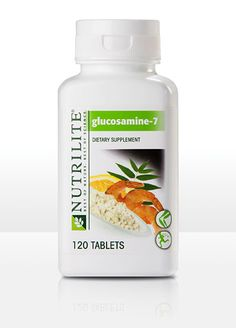 Nutrilite Glucosamine-7  I know one thing..this helps my joints Tremendously! www.amway.com/reginahutchins