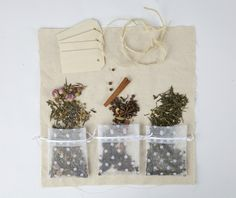 A Floral Blend Sweet, tart, and fun, floral teas are not only fragrant but also beautiful to assemble. Rose petals -Chamomile blossoms -Lavender buds -Lemon verbena Optional additions:White or Green tea