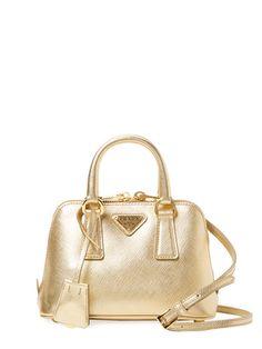 cfc7d7fddf908 Prada Bag in gold Belt