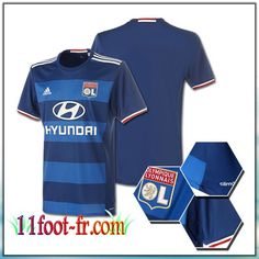 Maillot de Foot Lyon OL Exterieur Bleu 2016-17