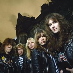 Iron Maiden c. 1982  The NWOBHM's finest - Up The Irons!