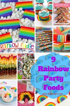 It Cant Get More Fun Than A Diy Unicorn Rainbow Party Our Oldest