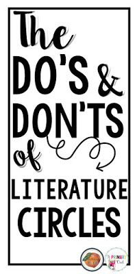 Literature Cirlces can be so tough to manage. Love how this post breaks down the do's and don'ts!