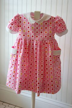Pink Virginia Floral dress by iveyc95, via Flickr