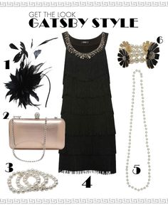 1920s Great Gatsby style